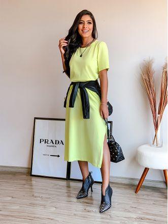 Vestido-Midi-Alessandra-Verde