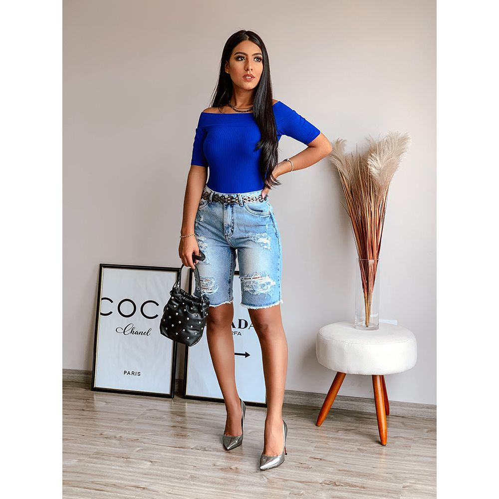 Blusa-Canelada-Azul-Ultra-Blue-Colcci