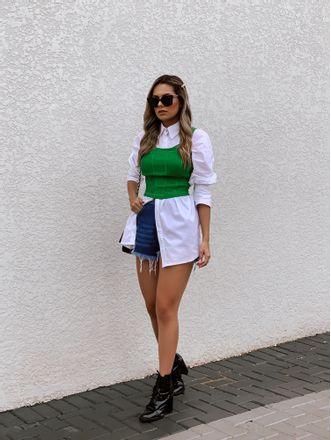 Blusa-Corselet-Daniela-Verde
