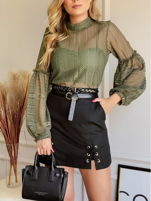 Shorts-Saia-Jolie-Preto-Compact-Cotton-E-Ilhos