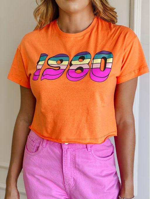 T-Shirt-1980-Laranja