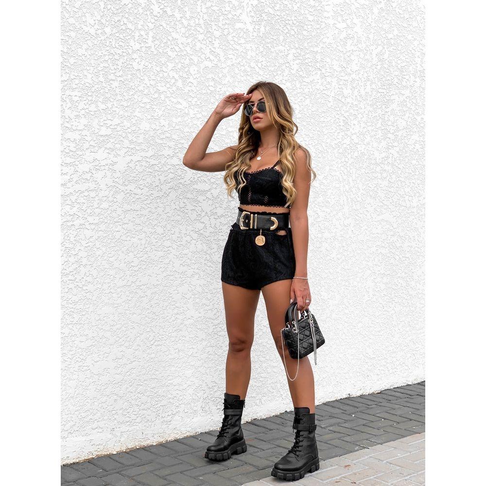 Shorts-Curto-De-Renda-Mariana-Black