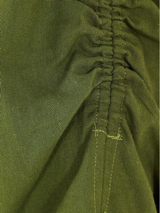 Blusa-Cropped-Franzido-Farm-Verde