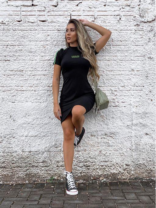 Vestido-Curto-Canelado-Raquel-Black-Colcci