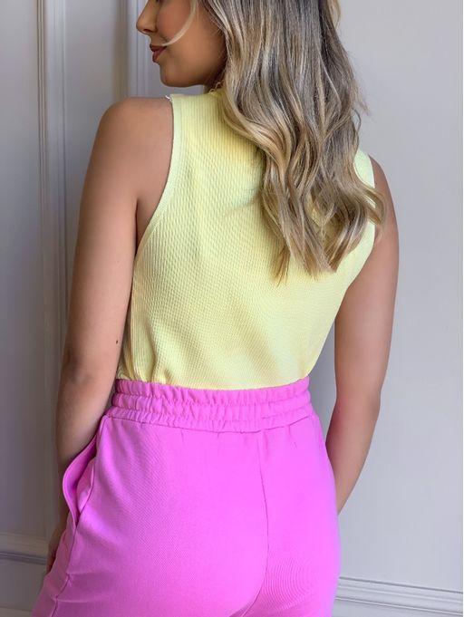 Cropped-Decote-Careca-Samira-Amarelo