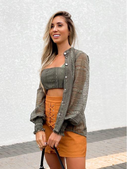 Camisa-Lauren-Verde-Militar