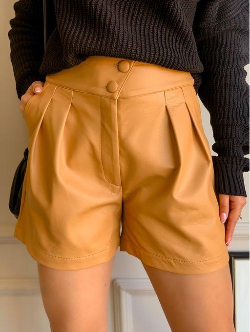 Shorts-Fine-Kauany-Camel
