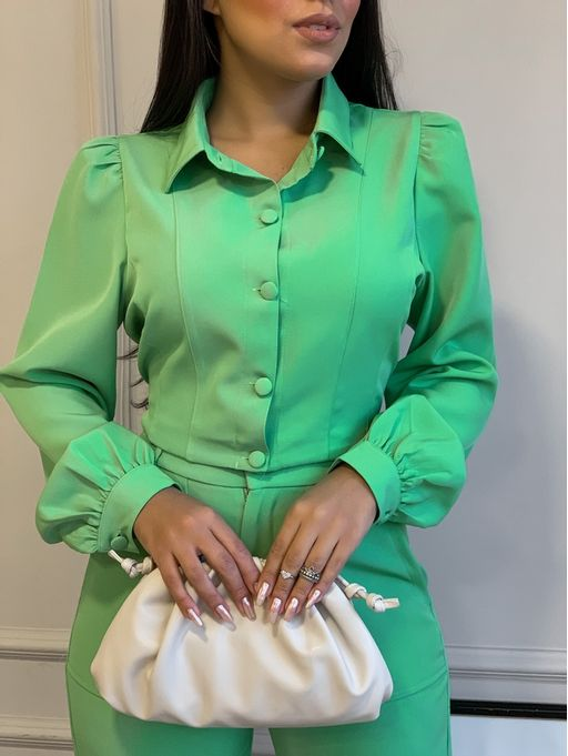 Conjunto-Jaqueta-Balmain-Verde