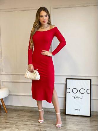 Vestido-Midi-Violet-Vermelho