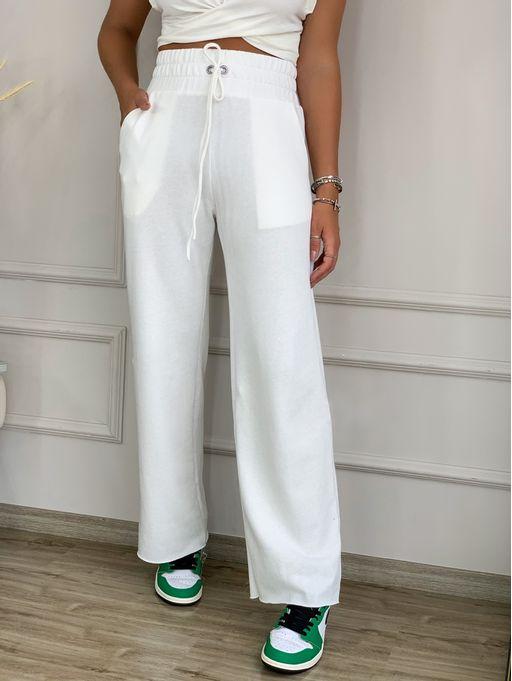 Calca-Trend-Color-Cintua-Alta-Off-White