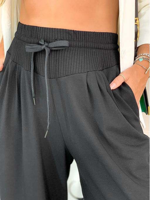 Calca-Pantalona-Moletom-Black