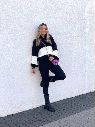 Tricot-Cacharrel-Bianca-Black-White