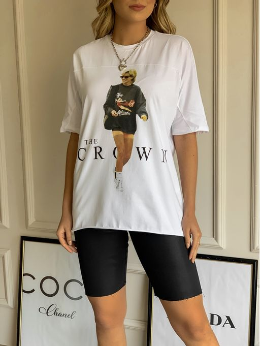 T-Shirt-The-Crown-Off-White