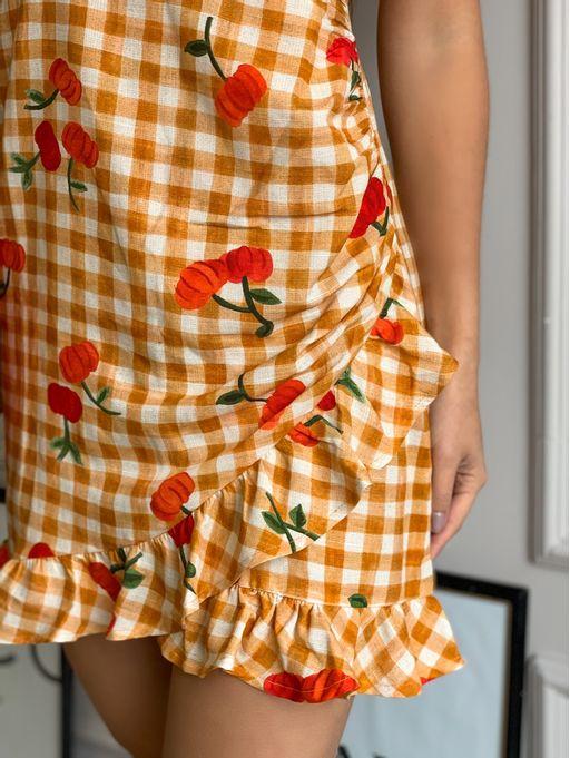 Vestido-Curto-Pitanga-Vichy-Farm