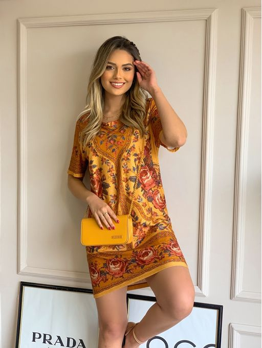 Vestido-Tshirt-Floral-Ponto-Cruz-Farm