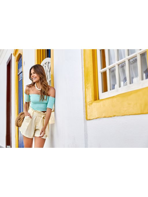 Shorts-Claire-Amarelo