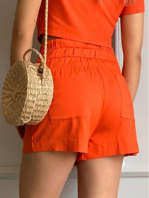 Shorts-Linho-Detalhe-Coz-Largo-Laranja