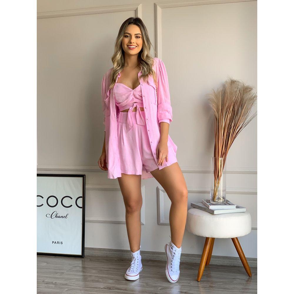 Camisa-Pompei-Rose-Com-Bolso
