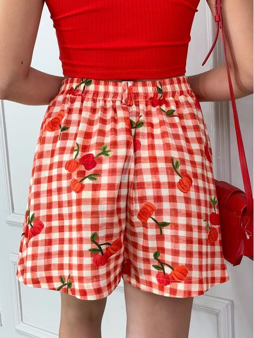 Shorts-Pitanga-Vichy-Farm