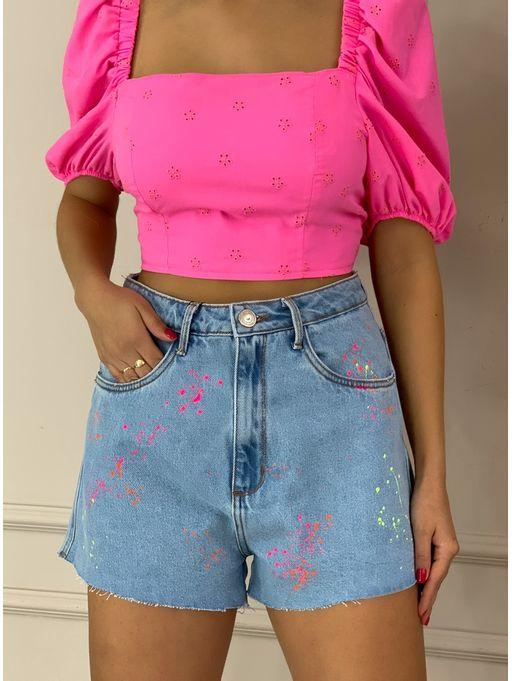 Shorts-Jeans-Hot-Pants-Super-High-Spray-Myft