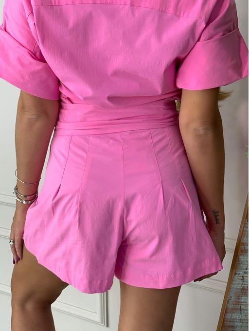 Shorts-Tricoline-Clochard-Faixa-Sharon