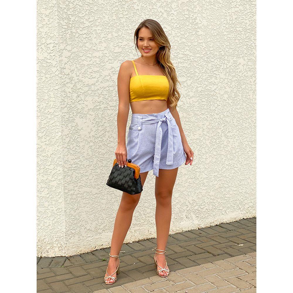 Shorts-Milla-Xadrez-Azul-Aline-Mezzari-Brand