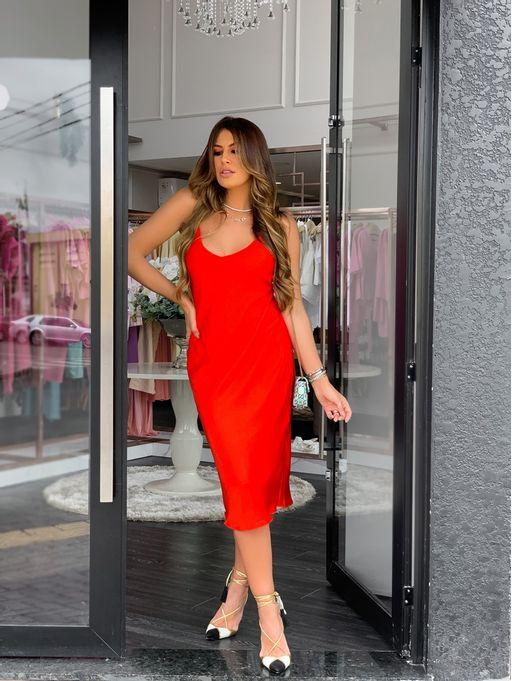 Vestido-Midi-Sleep-Dres-Manuela-Vermelho