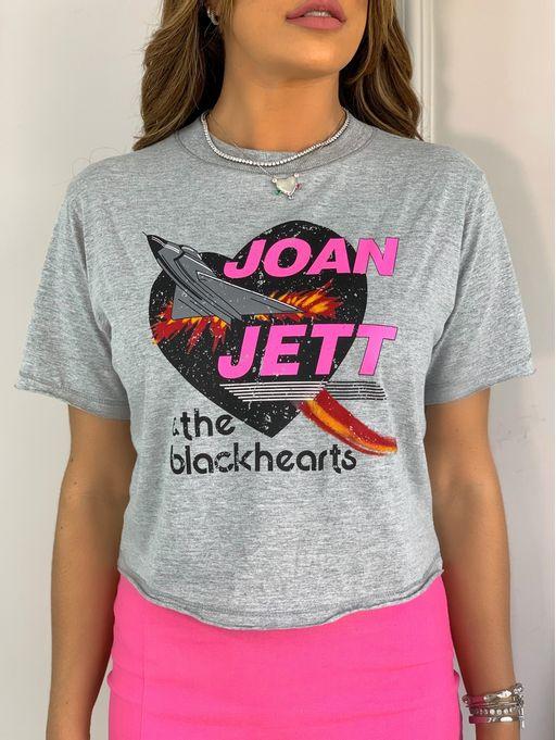 T-Shirt-Cropped-Joan-Jett-Mescla