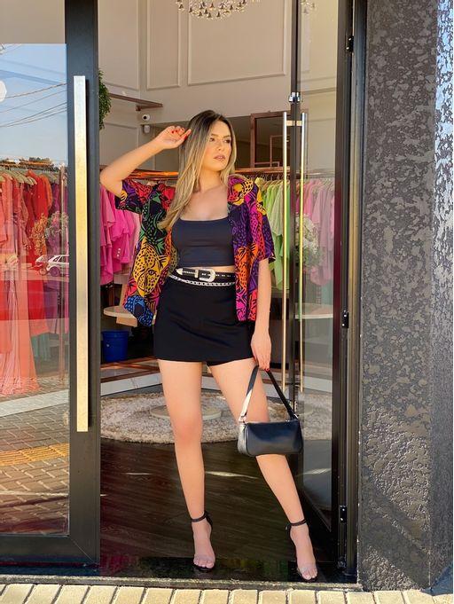 Saia-Shorts-Ami-Roma-Black