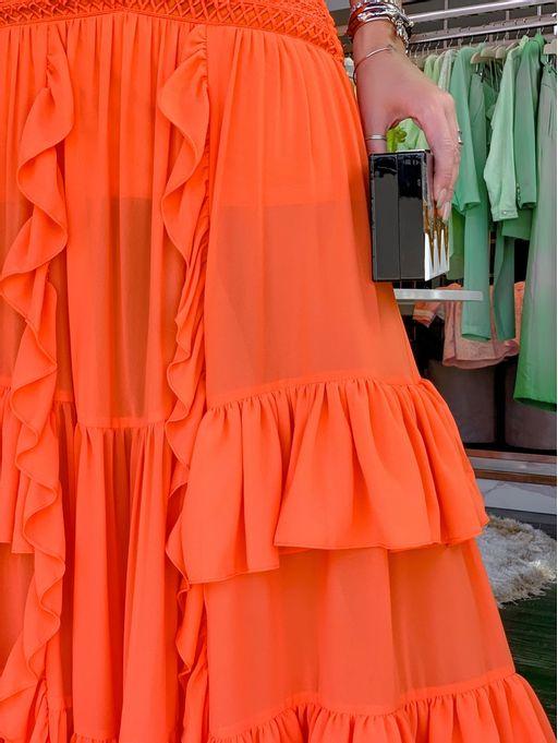 Saia-Rendas-Catalana-Orange