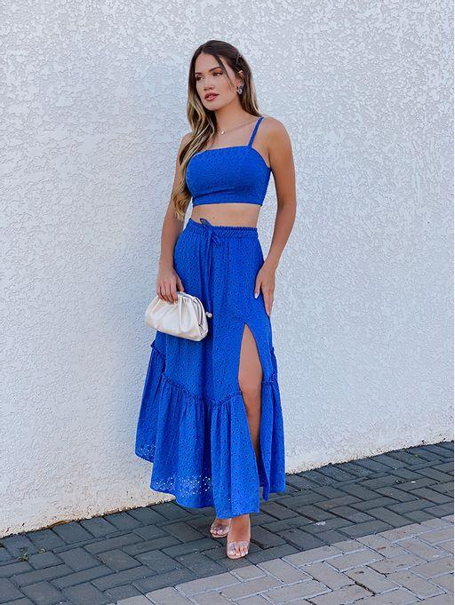 Saia-Midi-Octavia-Azul-Aline-Mezzari-Brand