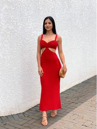 Vestido-Midi-Tricot-Adaline-Vermelho