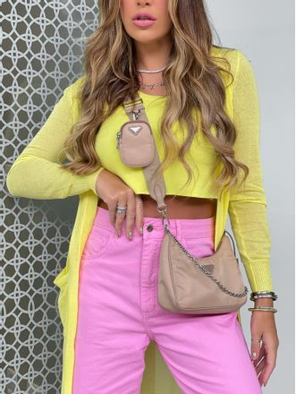 Cropped-Modal-Tricot-Amarelo-Louise